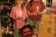Fords light Christmas candles!